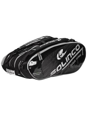 Solinco 12 Pack Bag Black/Silver