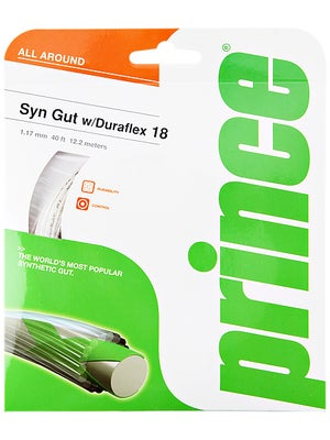 Prince Synthetic Gut 18 Duraflex White