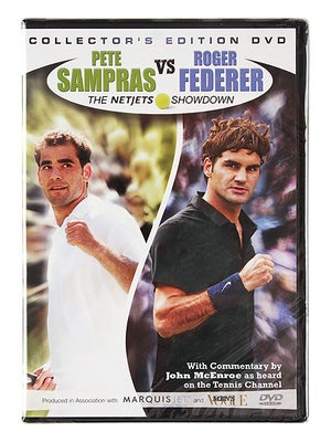 Sampras vs. Federer NetJets Showdown DVD