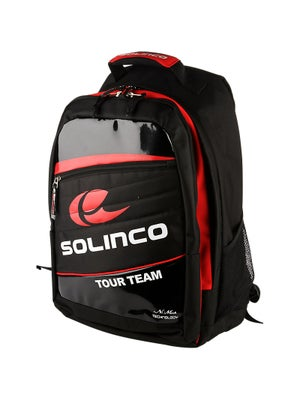 Solinco Backpack Bag Black/Red