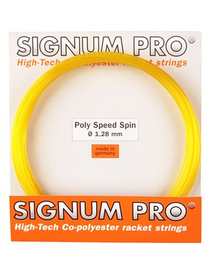 Signum Pro Poly-Speed Spin 16 (1.28) String