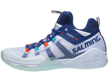 8d10b8a9052a89 Product image of Salming Kobra 2 Mid Men's Shoes - White/Blue