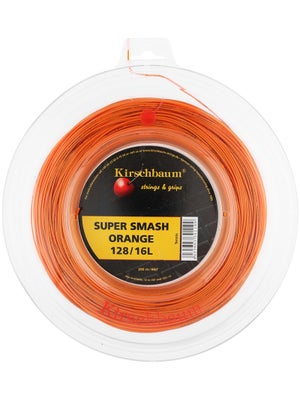 Kirschbaum Super Smash 16L 660' String Reel Orange