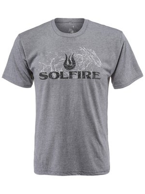 Solfire Men's Breathe Logo T-Shirt