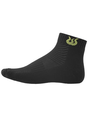 Solfire Men's Low Cut Socks Black
