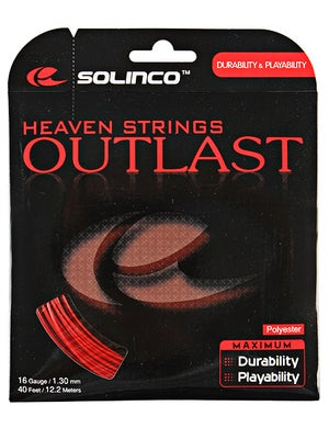 Solinco Outlast 16 (1.30) String