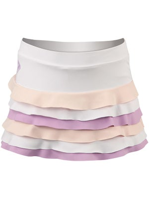 Switch Girl's Ruffle Skort White/Purple/Pink