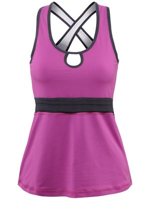 Sofibella Women's Hook Crossback Tank