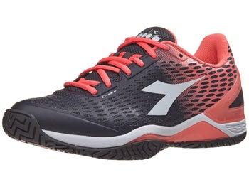 fe2bc589 Diadora Speed Blushield 2 AG Black/Coral Women's Shoe