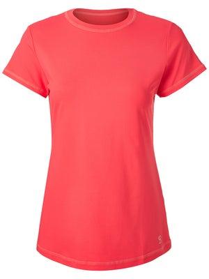 c2133418a96 Sofibella Women's UV Short Sleeve Top - Coral