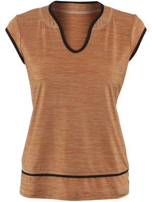 Sofibella Women's Winning Trimmed Top
