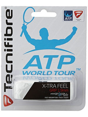 Tecnifibre ATP X-Tra Feel Replacement Grip White