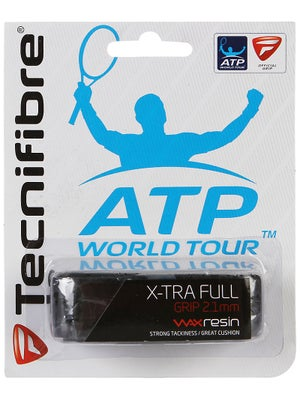 Tecnifibre ATP X-Tra Full Replacement Grip Black