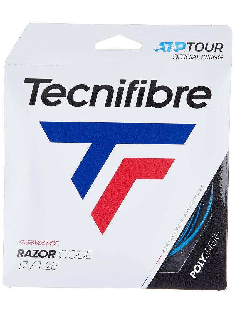 Tecnifibre ATP Razor Code Tennis String Set-Blue-18