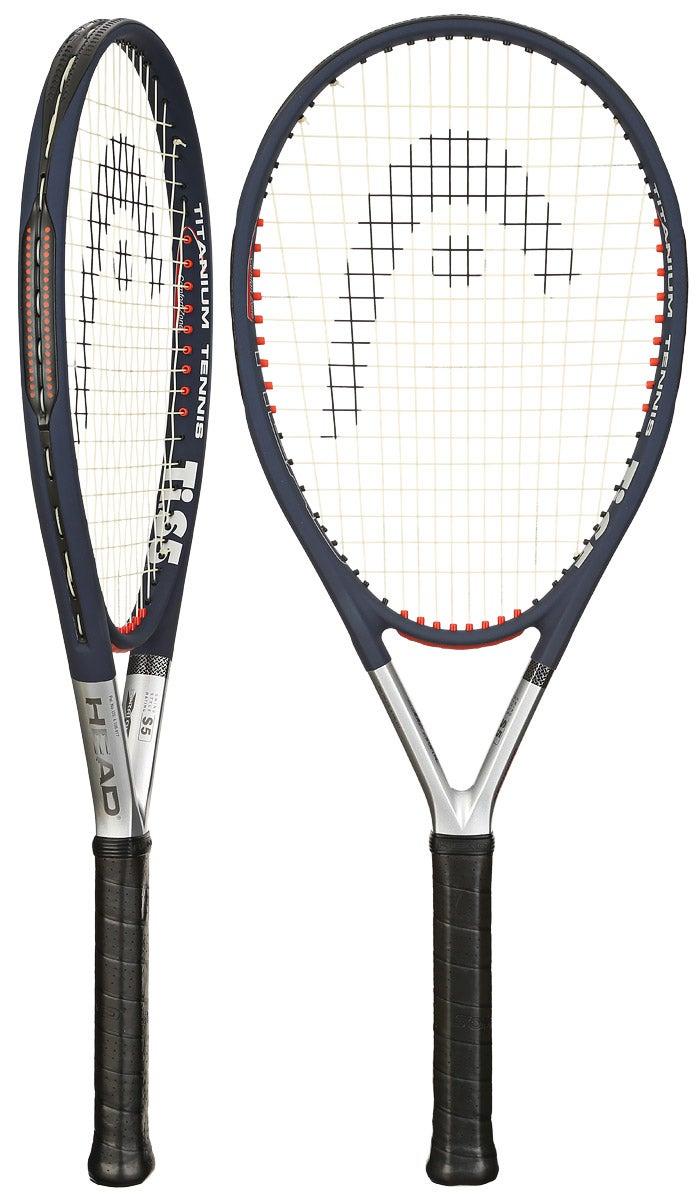 Head Titanium Ti S5 Comfort Zone Racquets