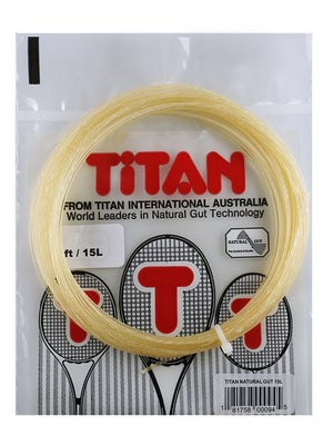 Titan Natural Gut 15L String