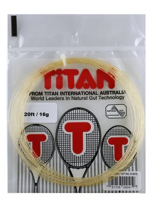Titan Natural Gut 16 String Half Set