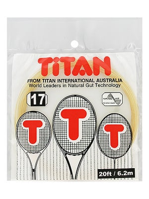 Titan Natural Gut 17 String Half Set