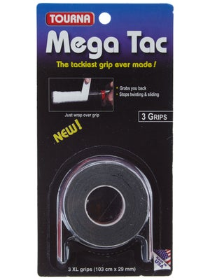 Tourna Grip Mega Tac Overgrip Black