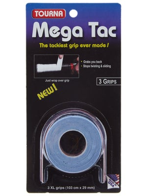 Tourna Grip Mega Tac Overgrip Blue