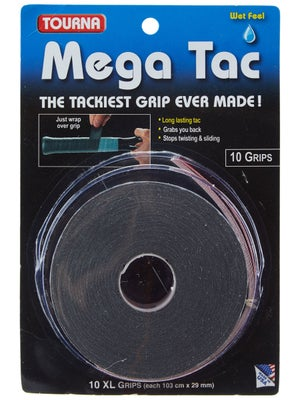 Tourna Mega Tac Overgrip 10 Pack