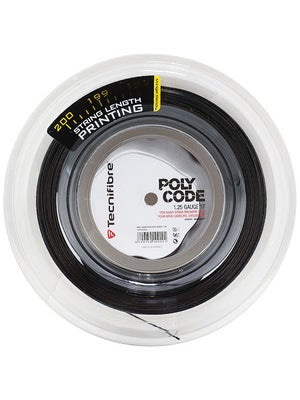 Tecnifibre Poly Code 17 660' String Reel Black