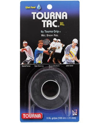 Tourna Tac XL Overgrip Black