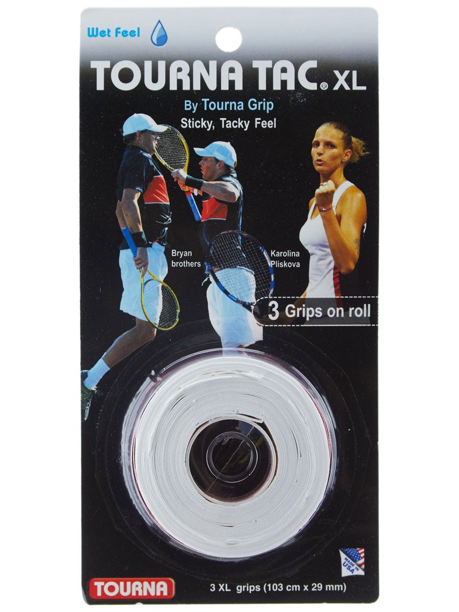 Tourna Tac Tennis Racquet Over Grip 30 XL Overgrips Absorbent Tacky Feel Durable