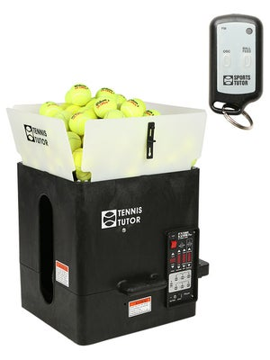 Tennis Tutor Plus Player Ball Mach. w/ 2B Remote