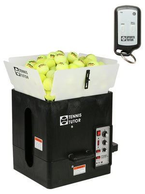 Tennis Tutor Plus Ball Mach W/Wireless Remote