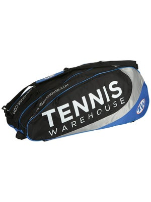 Tennis Warehouse Blue 9-Pack Bag