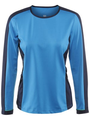 Tail Women's Blue Court Leona Long Sleeve Top