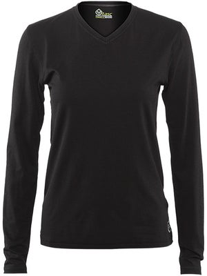 tasc Women's Basic Core LS V-Neck Top