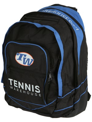 Tennis Warehouse Blue Back Pack Bag