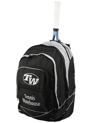 Tennis Warehouse Black Back Pack Bag