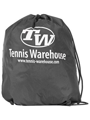 Tennis Warehouse Cinch Sack Bag Charcoal