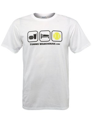 Tennis Warehouse Men's Eat-Sleep-Tennis T-Shirt