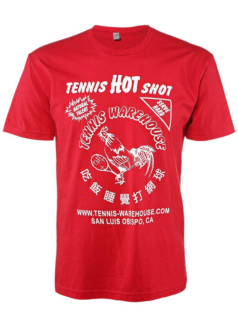 Tennis Warehouse Men's Hot Shot T-Shirt Price: $10.00