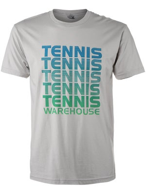 Tennis Warehouse Men's Repeat T-Shirt Grey