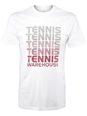 Tennis Warehouse Men's Repeat T-Shirt White