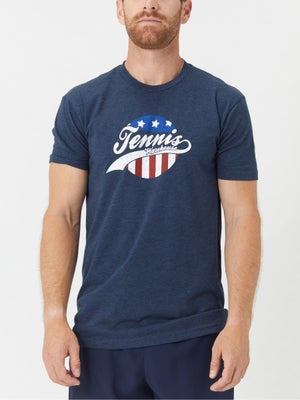 Tennis Warehouse Men's Stars and Stripes T-Shirt