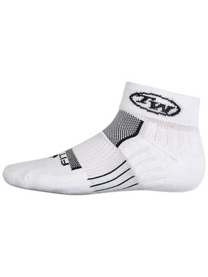 TW Fitsok Quarter Socks White/Black