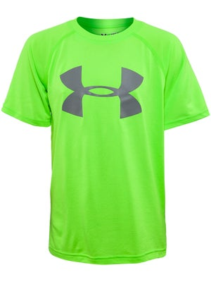 Under Armour Boy's Fall Big Logo Tech Top