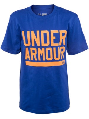 Under Armour Boy's Fall Script Top