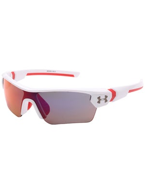 5b19ab9cc0 Product image of Under Armour Menace Youth Sunglasses White Red Multi