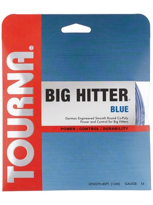 Tourna Poly Big Hitter Blue String 16