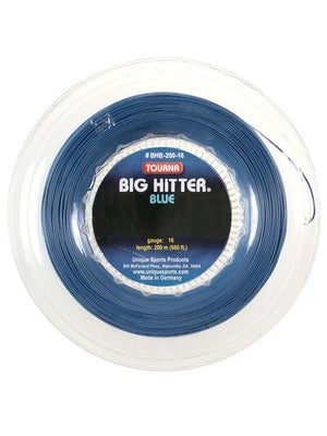 Tourna Poly Big Hitter Blue String 16 Reel