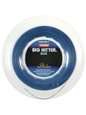 Tourna Poly Big Hitter Blue String 17 Reel