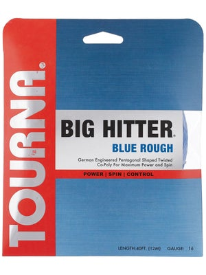 Tourna Poly Big Hitter Blue Rough String 16