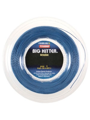 Tourna Poly Big Hitter Blue Rough String 16 Reel